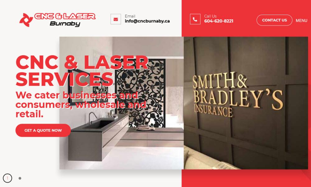 CNC & Laser Burnaby