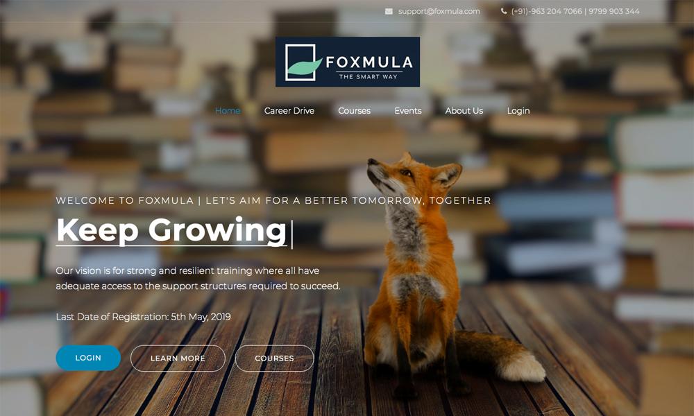 Foxmula - The Smart Way