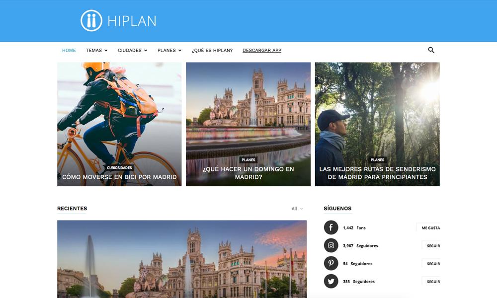 Hiplan blog
