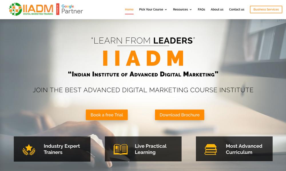 IIADM - Indian Institute Of Advanced Digital Marketing