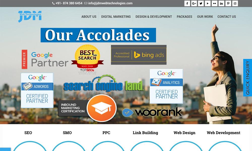 JDM Web Technologies