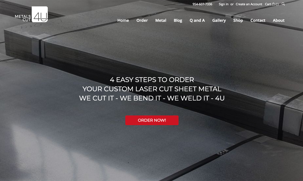 MetalsCut4U Inc