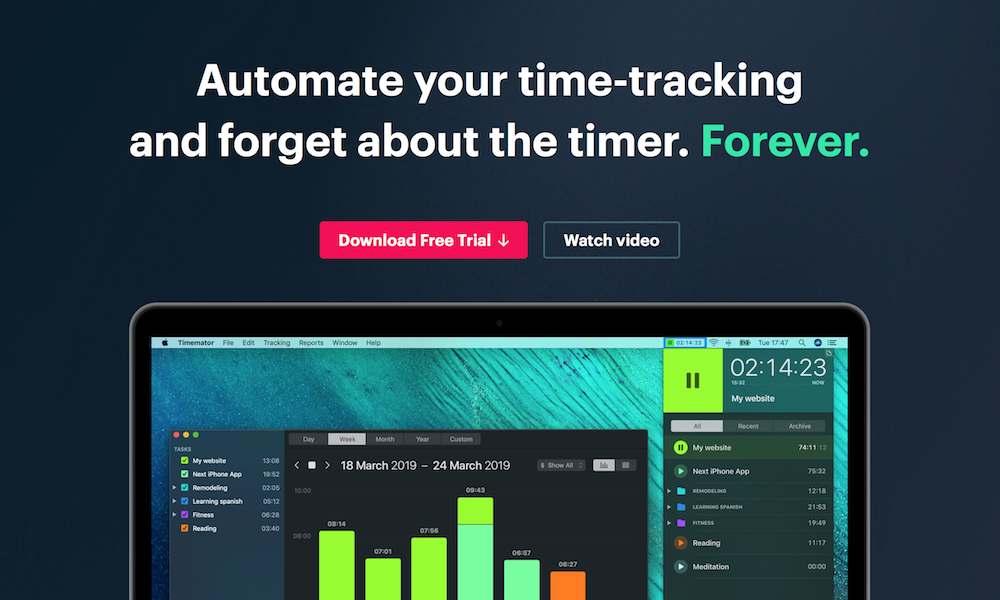 Timemator for Mac