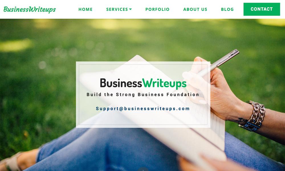 Businesswriteups