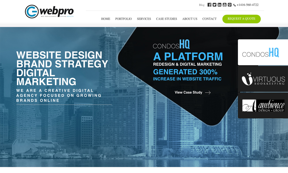 G Web Pro Marketing Inc