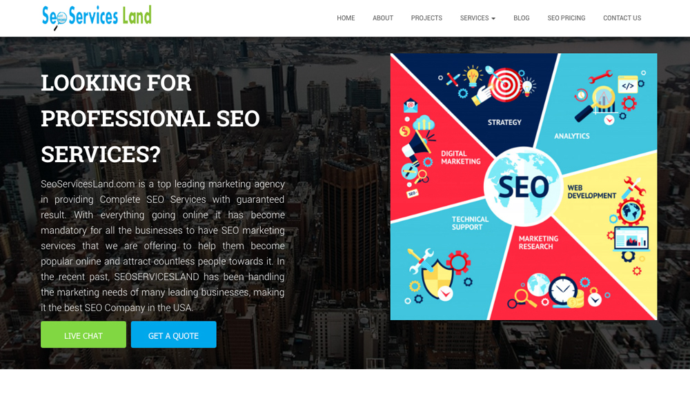 SEO Services Land
