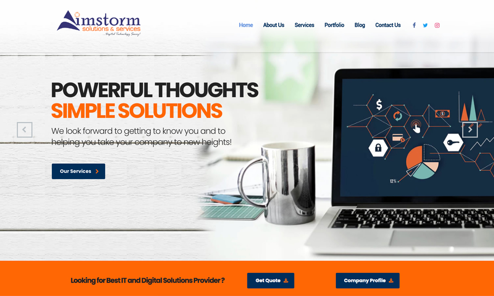 Aimstorm Solution