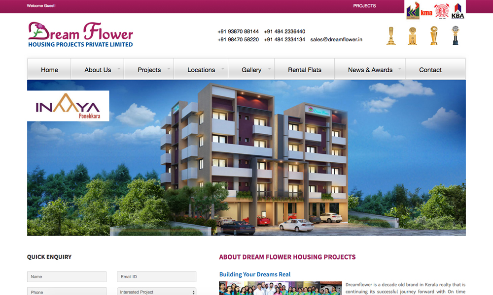 Dreamflower Housing Projects Pvt LTD