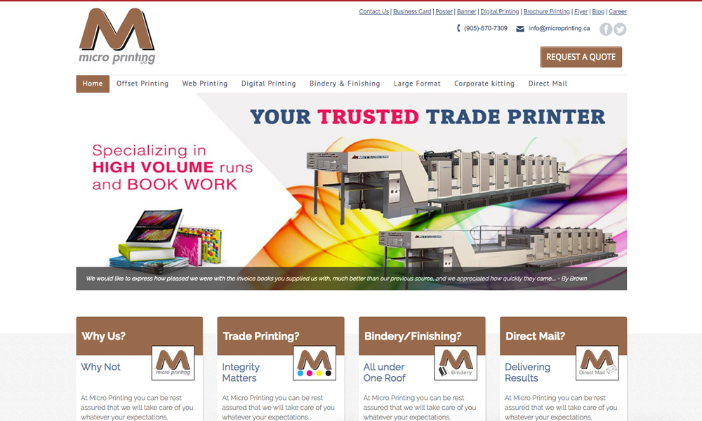 Micro Printing Ltd.