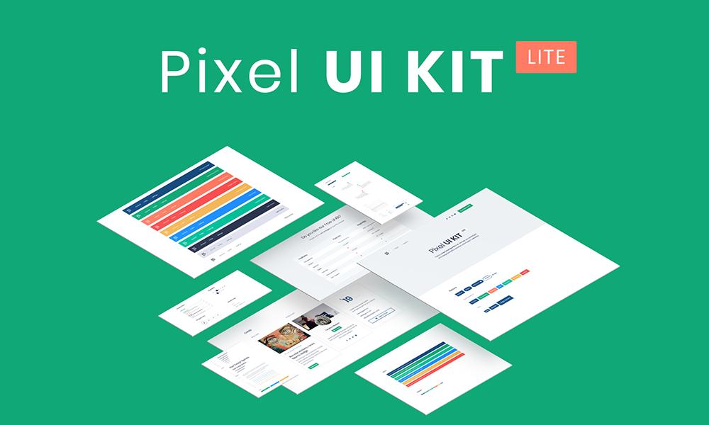 Pixel Lite - Bootstrap 4 UI Kit