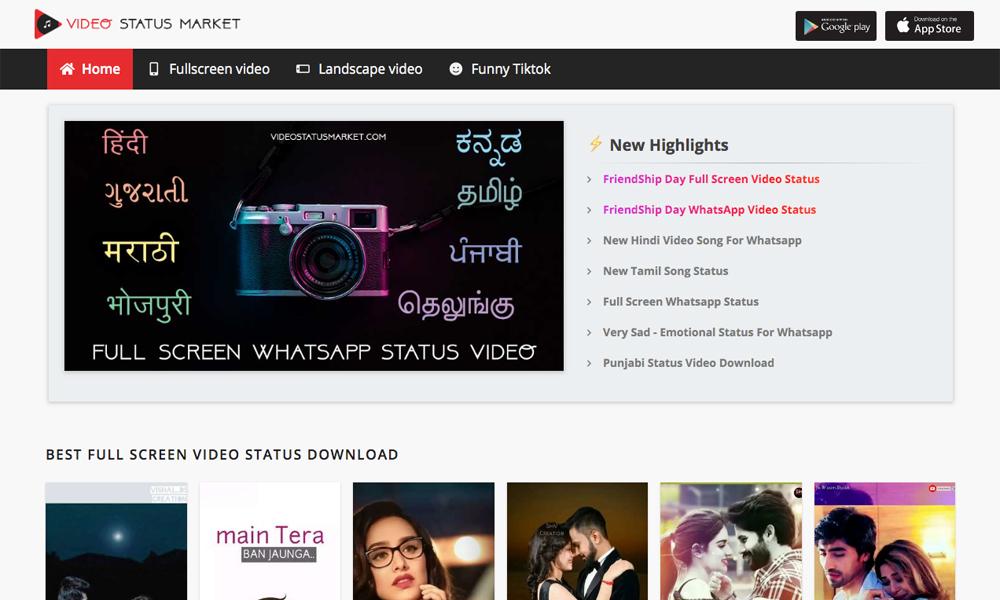 Video Status Market