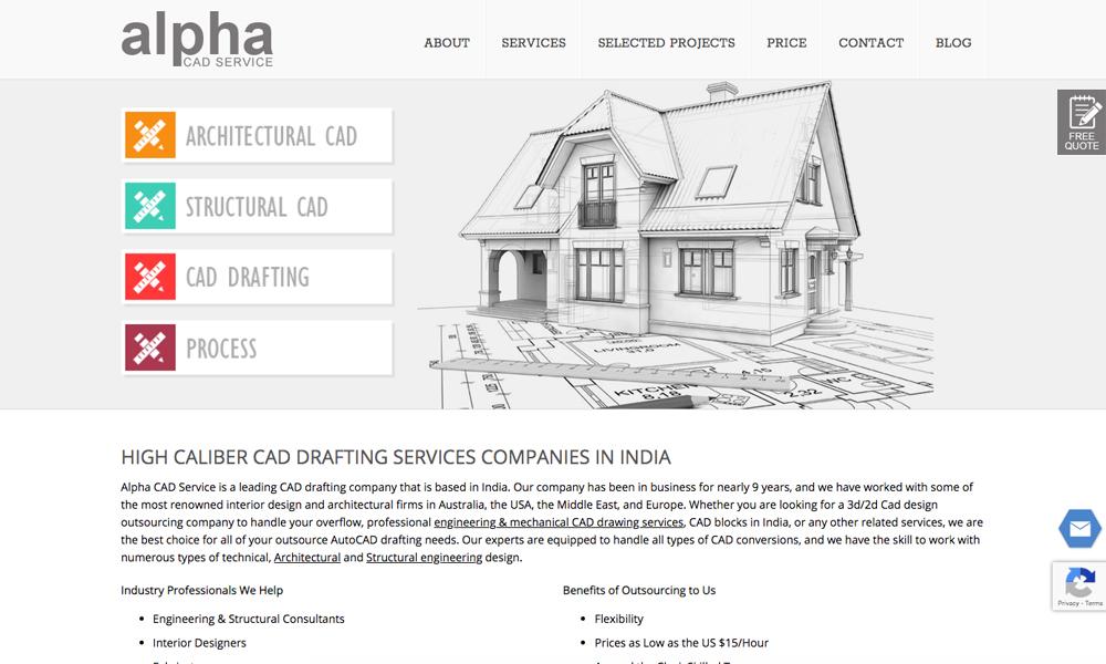 Alpha CAD Service