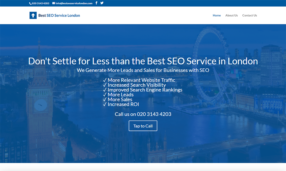 Best SEO Service London