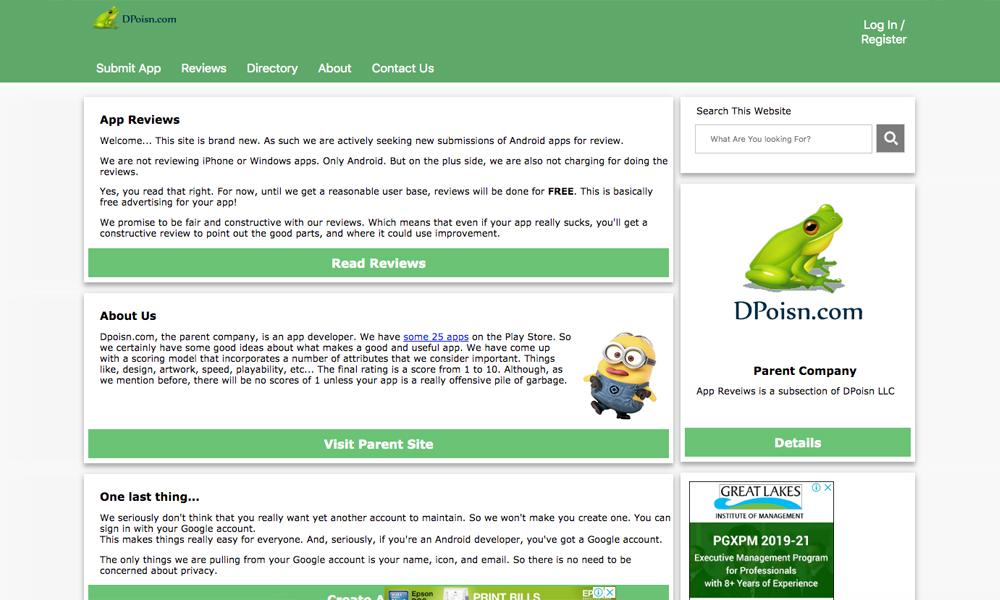 Dpoisn - App Reviews