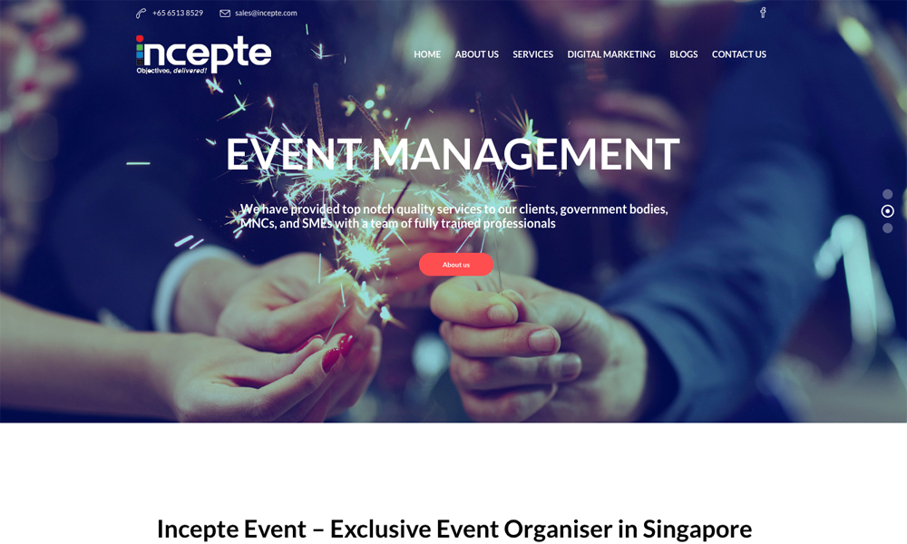 Incepte Event