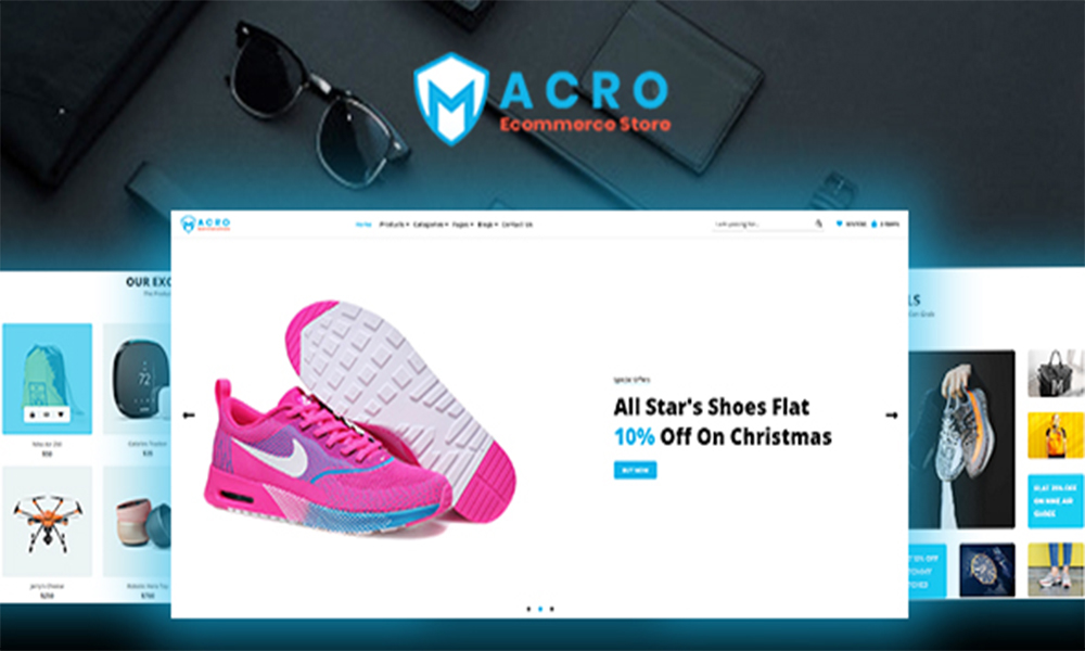 Macro - Ecommerce Multistore HTML Template