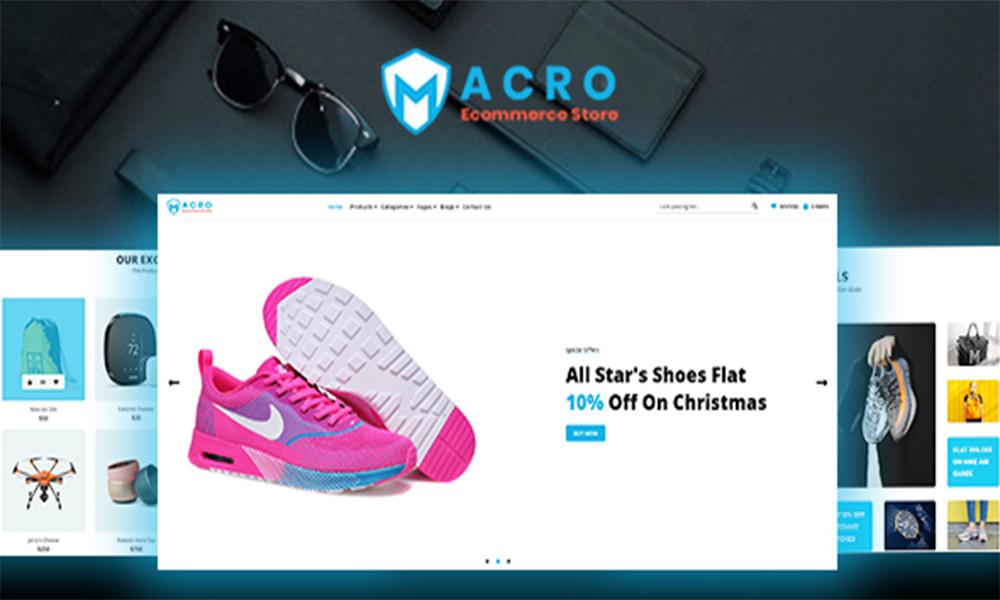Macro - Ecommerce Multistore HTML Template
