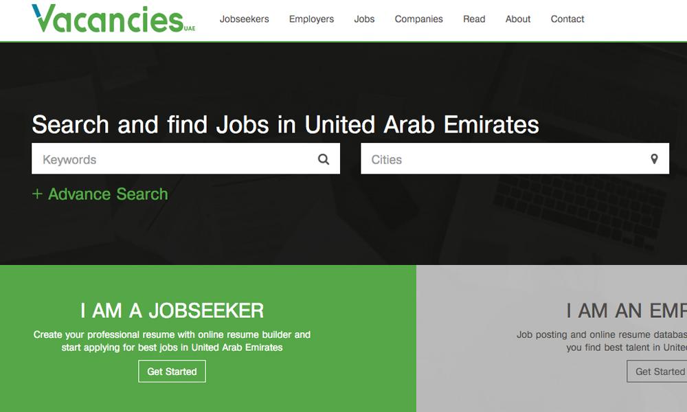 Vacancies UAE - Leading job site in UAE