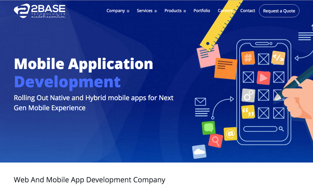 2Base Technologies - Mobile App Development