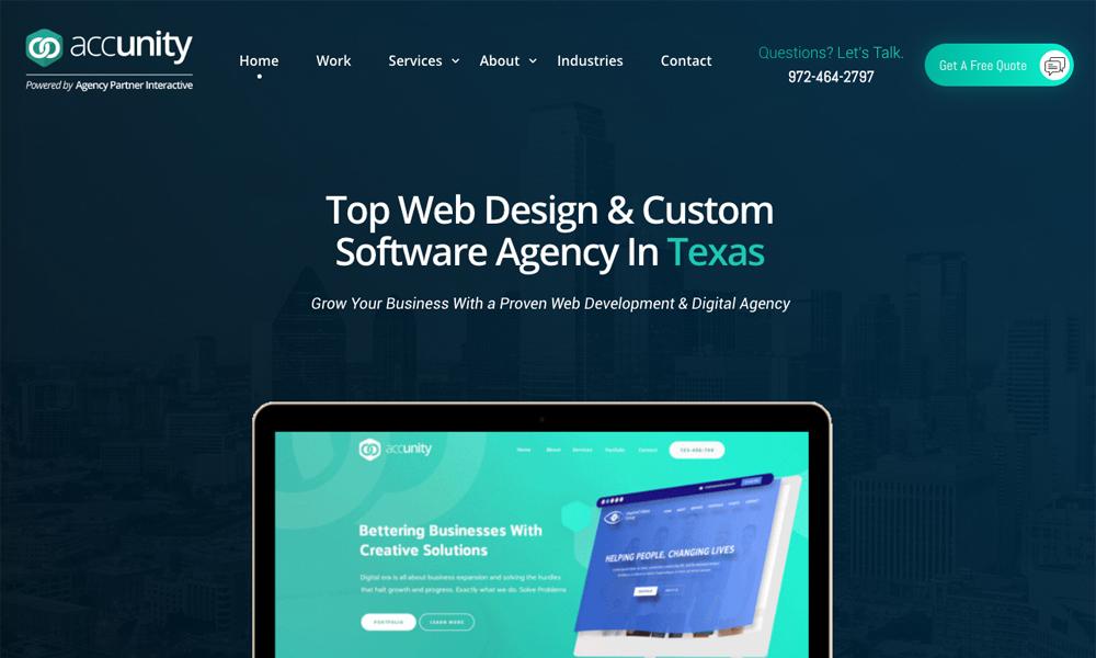 Accunity - Web Design and Web Development