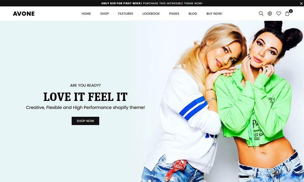 Avone Multipurpose Shopify Theme