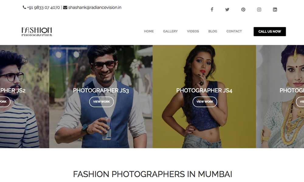 Fashion Photography Mumbai