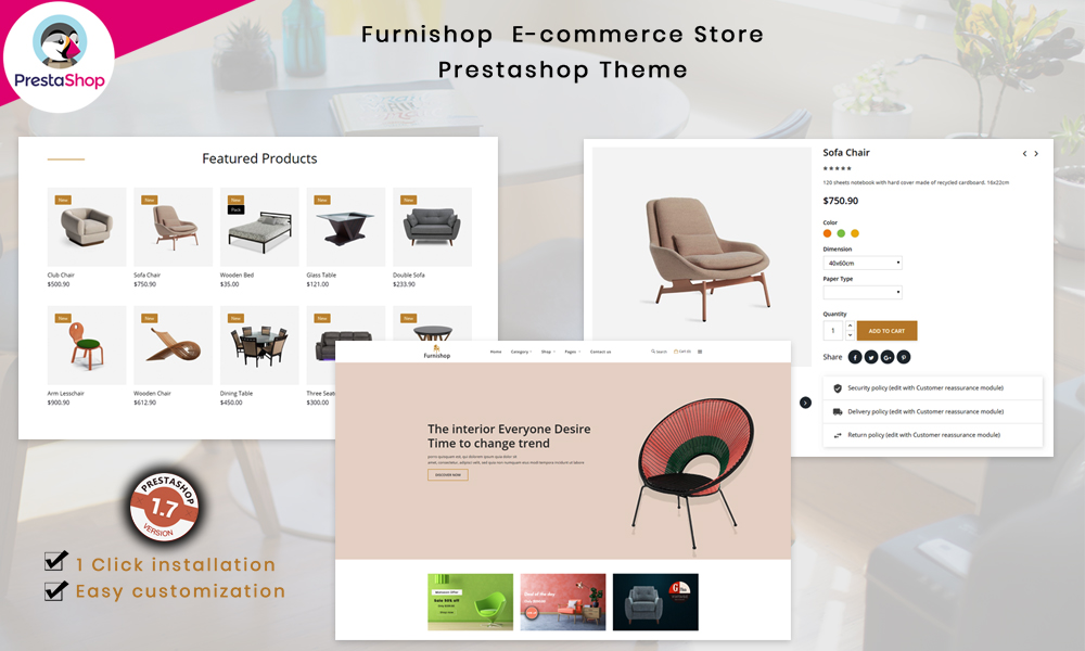 Furnishop - The Furniture eCommerce Store