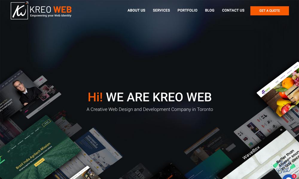 Kreo Web