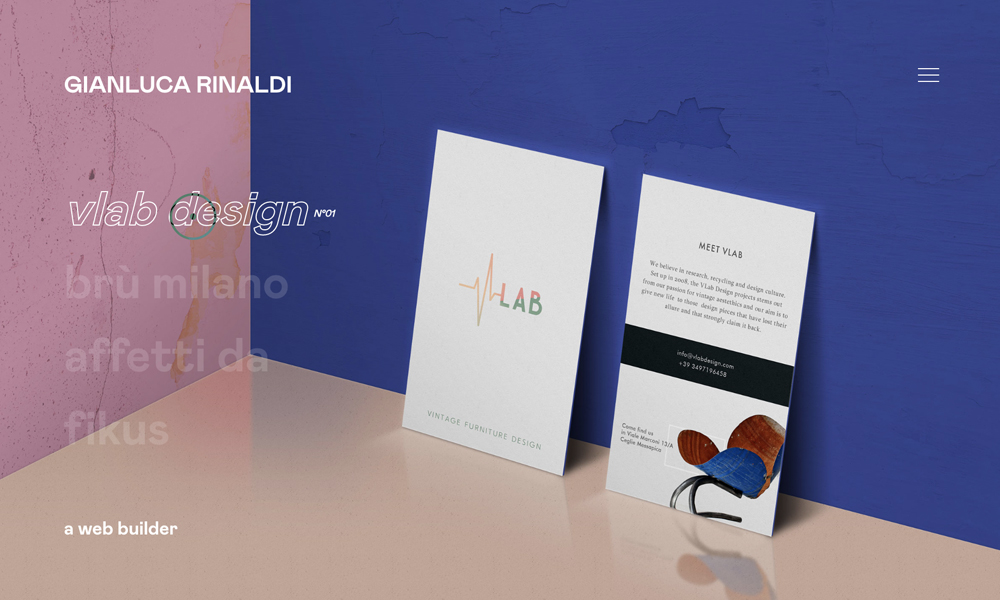 Portfolio of Gianluca Rinaldi - Web Builder
