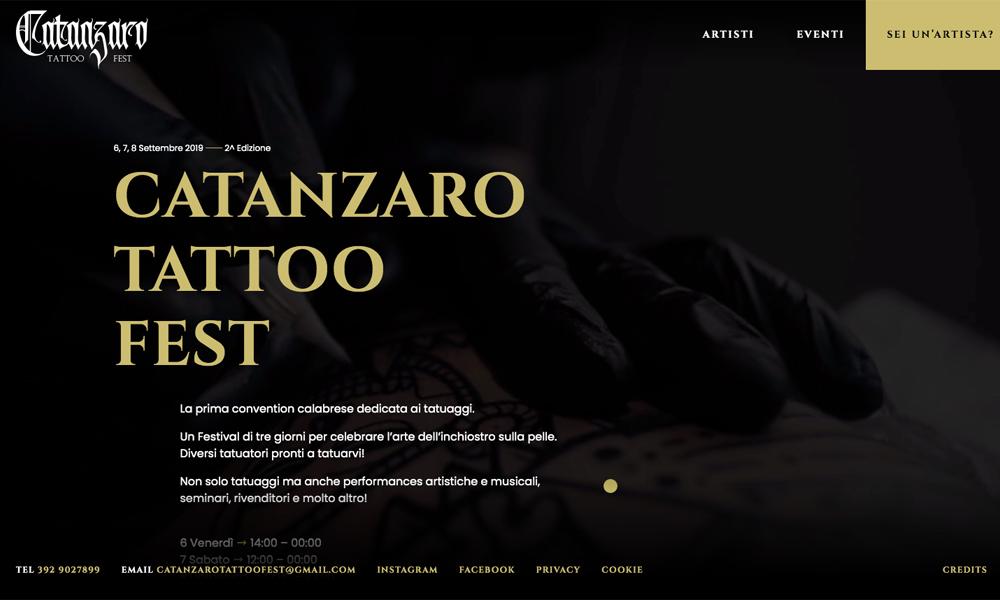 Catanzaro Tattoo Fest