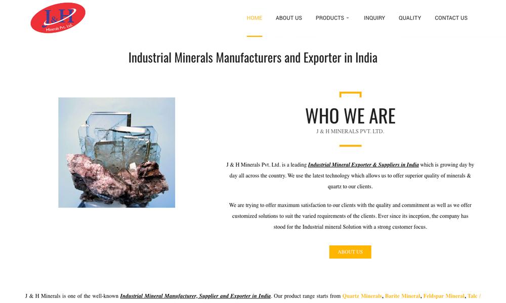 J & H Minerals
