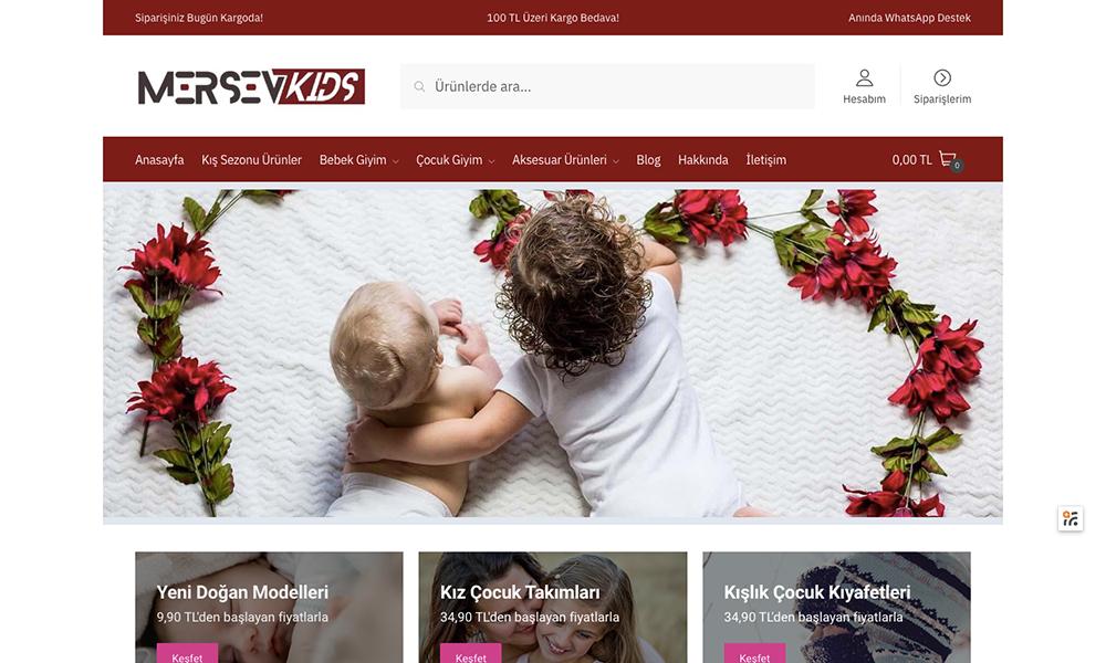 Mersevkids.com Bebek ve Çocuk Kıyafetleri