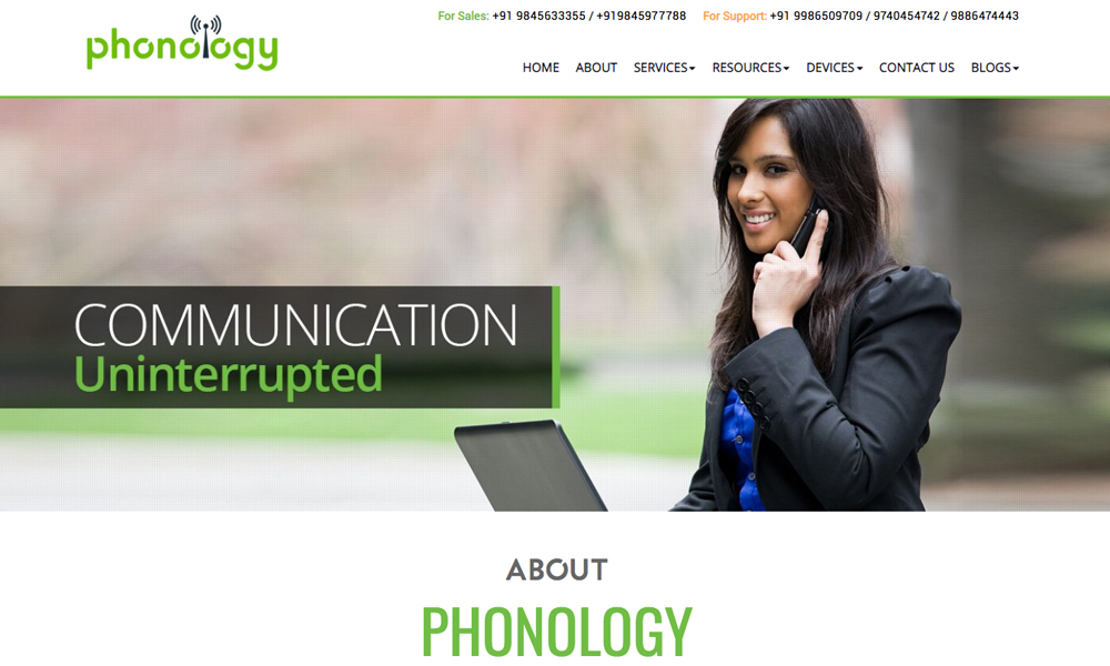 Phonology IT Solutions