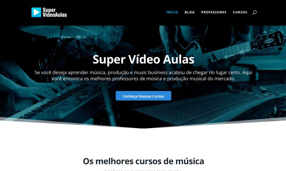 Super vídeo aulas