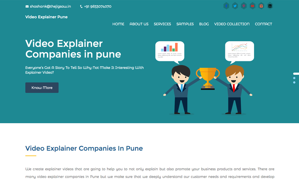 Video Explainer Pune