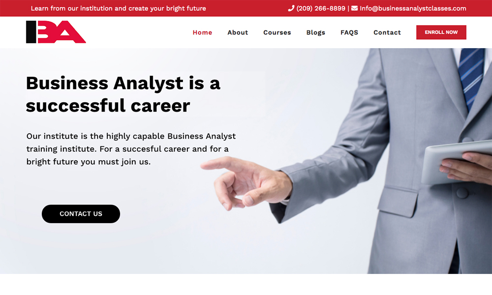 Business Analyst Classes
