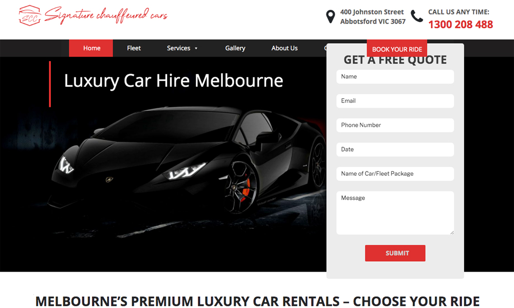 Signature Chauffeured Cars