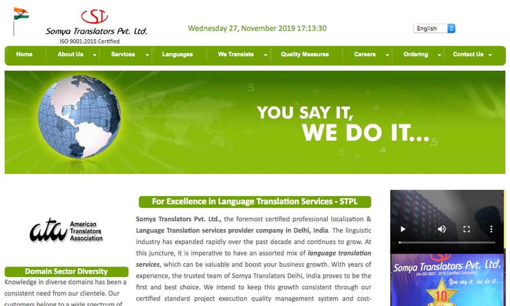 Somya Translators Pvt. Ltd.
