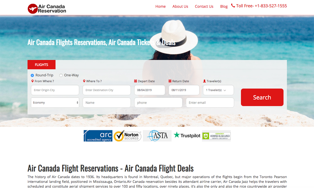 Aircanda Reservation Online