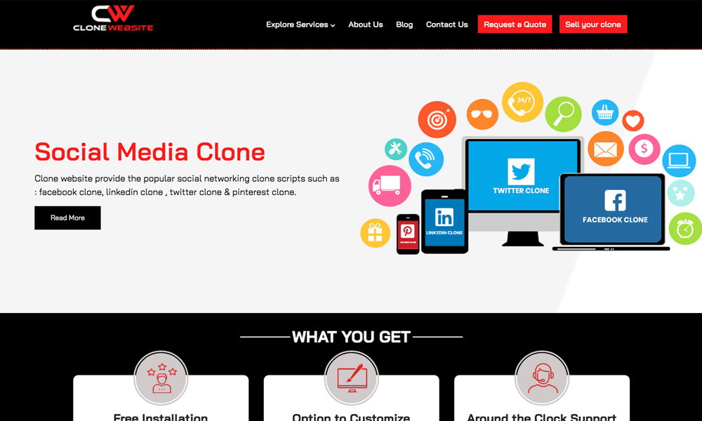 CloneWebsite