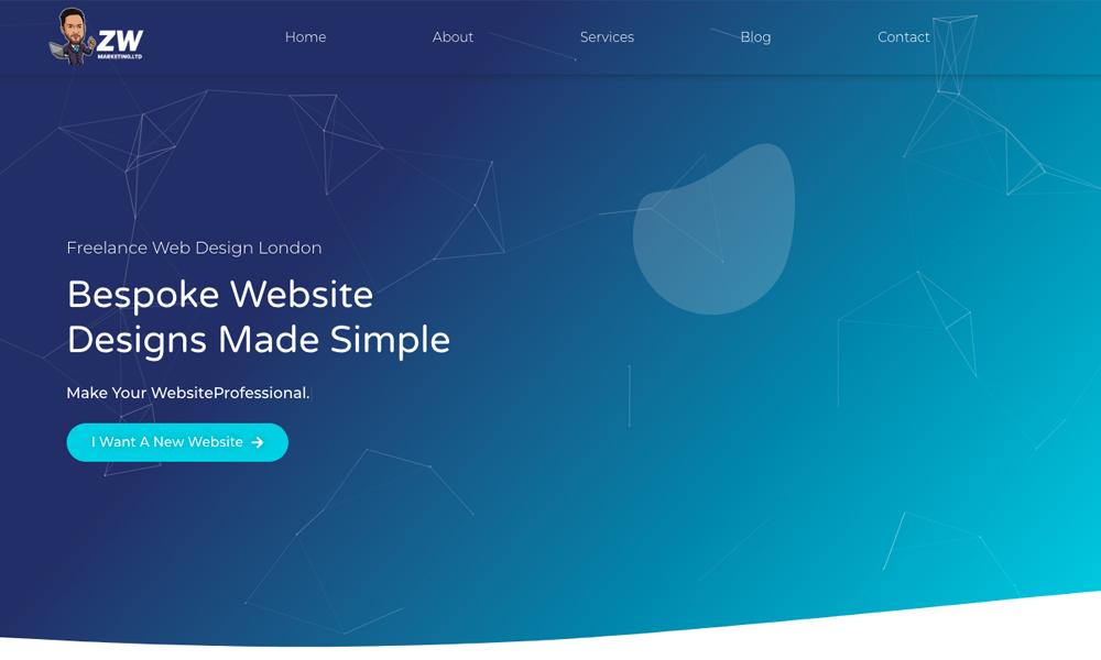 Freelance web design London
