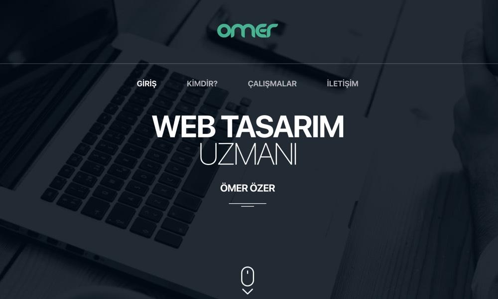 Omer Ozer - Web Designer UI