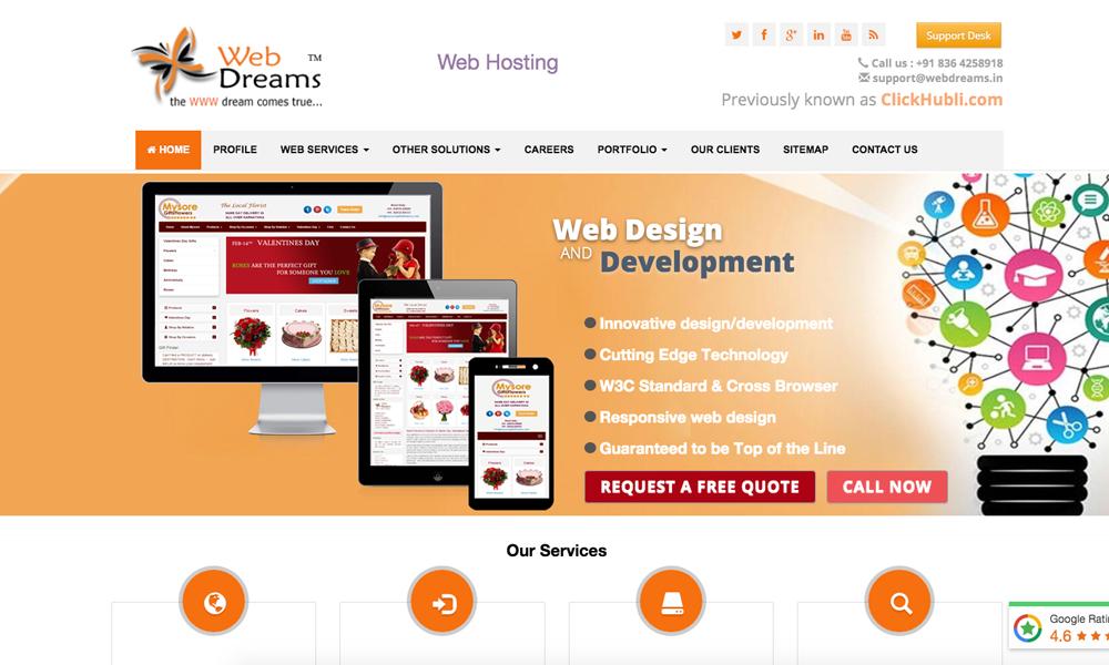 Webdreams India