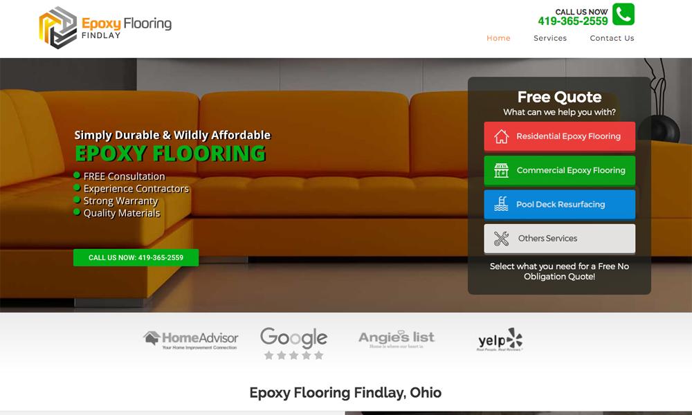 Epoxy Flooring Findlay