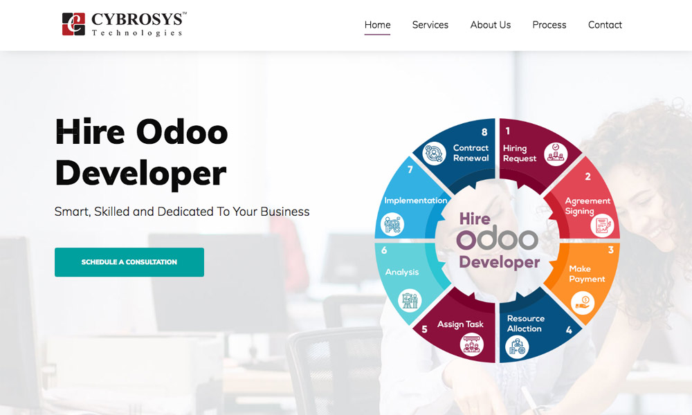 Hire odoo developers