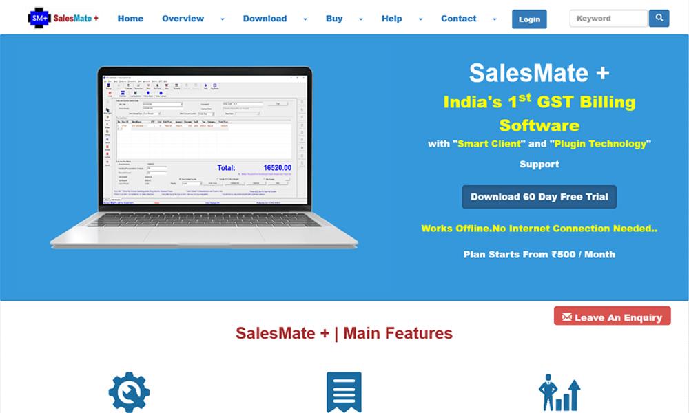 SalesMate Plus - GST Billing Software