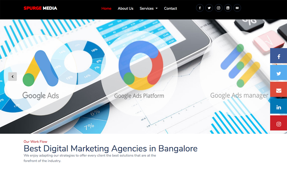 Spurge Media - Digital Marketing Agency in Bangalore
