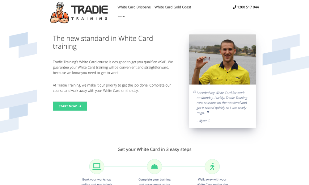 Tradie Training White Card