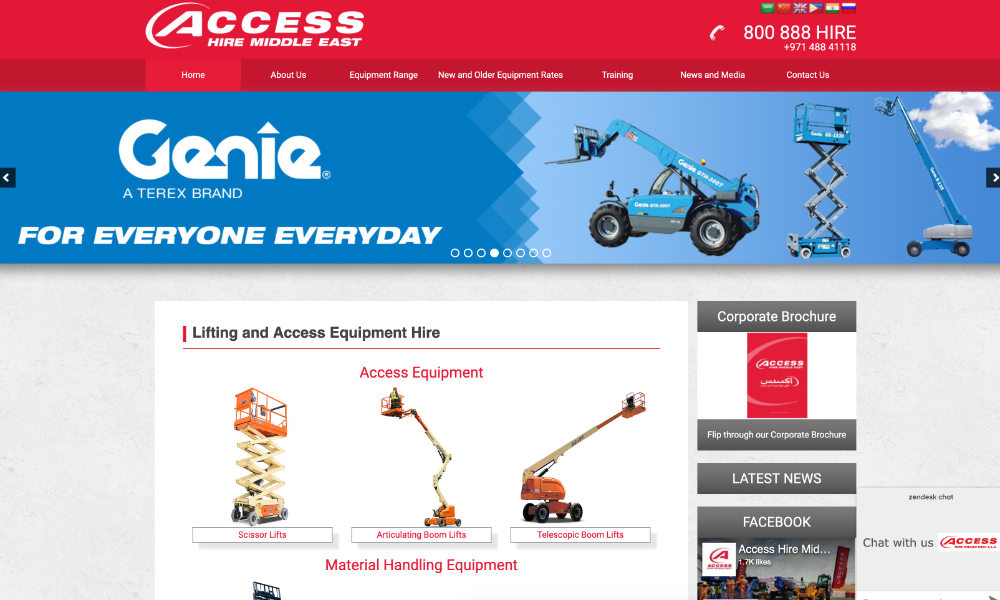 Access Hire Middle East