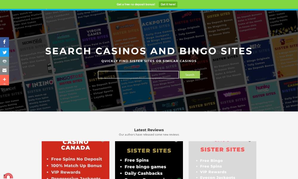 Casino Sister Site